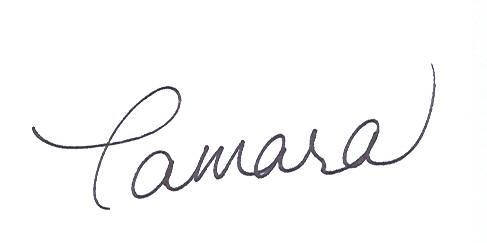 Tamara Signature