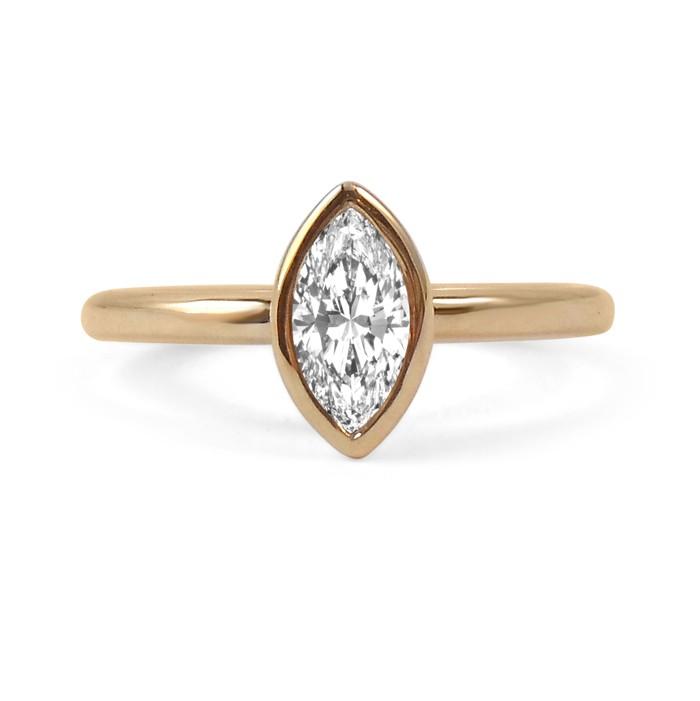 Diamond Marquise Ring