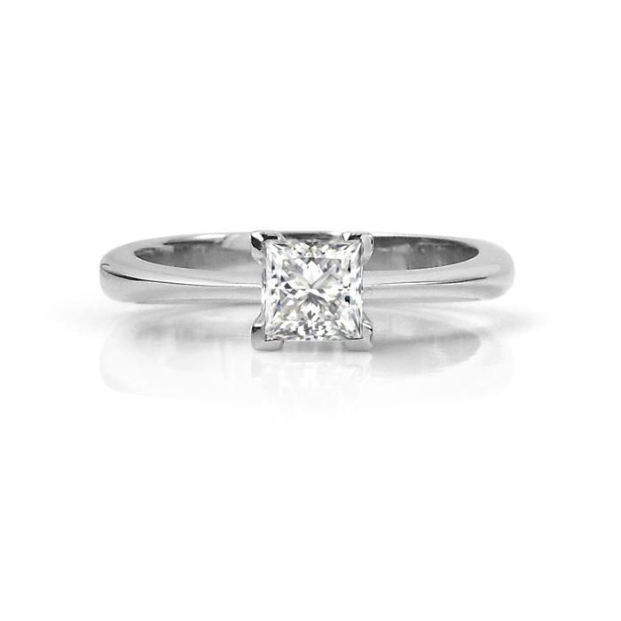 Princess Cut Canadian Diamond Engagement Ring Studio1098 Toronto