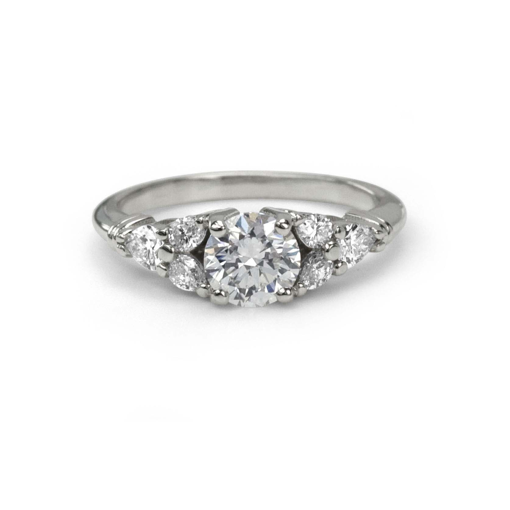 engagement ring simulants diamonds square rings and alternatives fashion cut diamond to synthetic