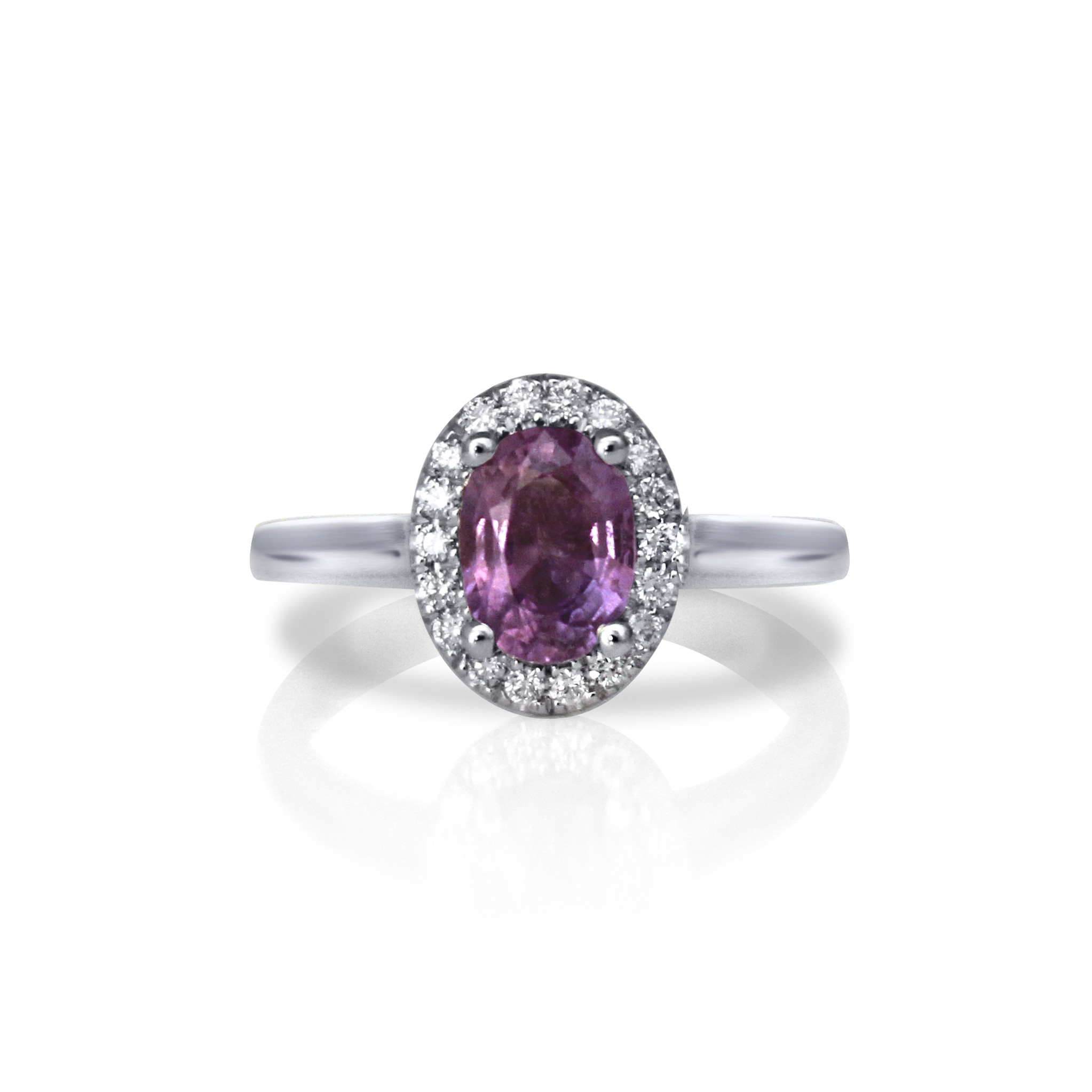 product free h and tdw i overstock diamond watches jewelry rose amethist ring today rings gold amethyst shipping engagement miadora