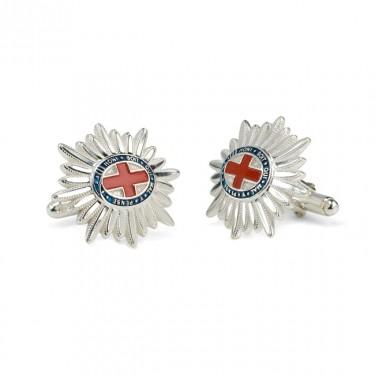 Handmade Sterling Silver GGHG Cufflinks