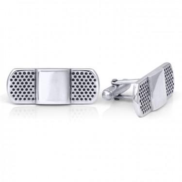 Handmade Sterling Silver Bandaid Cufflinks