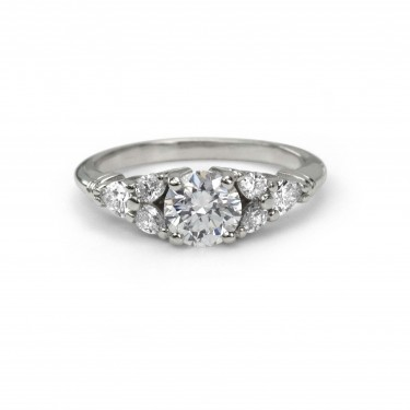 Vintage Diamond Engagement Ring Toronto