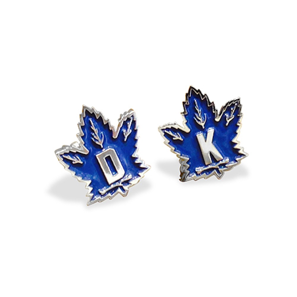 Personalized Handmade Sterling Silver Classic Maple Leaf Cufflinks