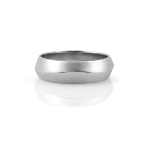 Knife Edged Wedding Ring